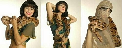 Orientalischer Schlangentanz Yvonne Pouget